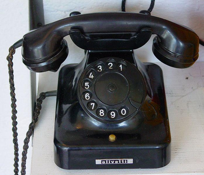 Gambar: pesawat telepon